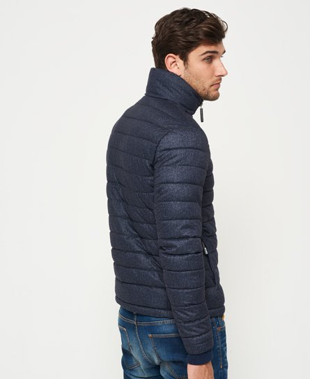 Superdry Fuji Tweed Triple Zip Through Jacket