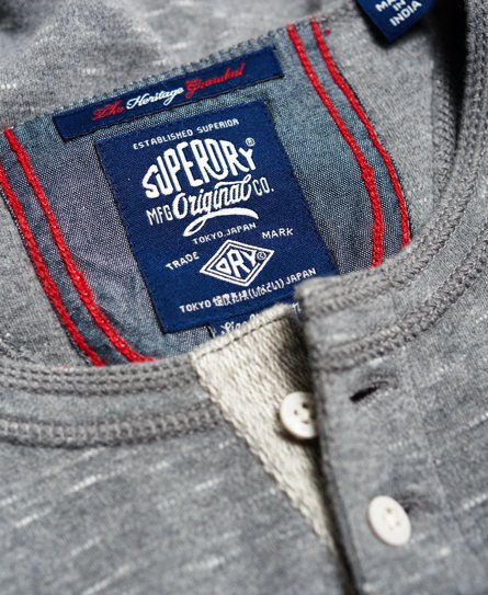 Superdry Heritage Grandad Top