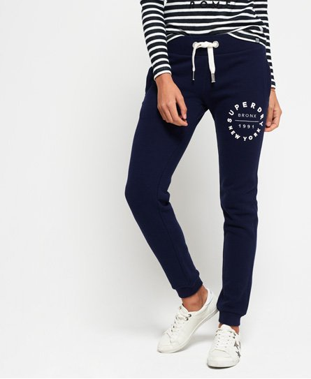 Superdry Pantalon de survêtement slim Applique