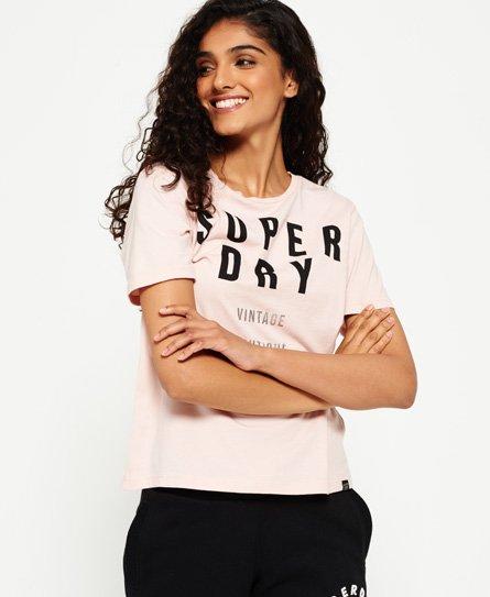 Superdry T-shirt graphique Amour