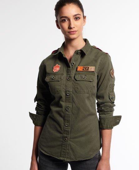 Superdry Camisa Delta Military