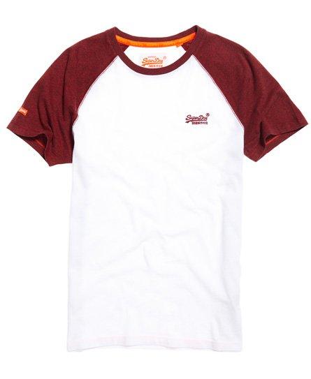 Superdry Orange Label Baseball T-Shirt