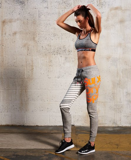 Superdry Sport Label Diagonal Jogger.