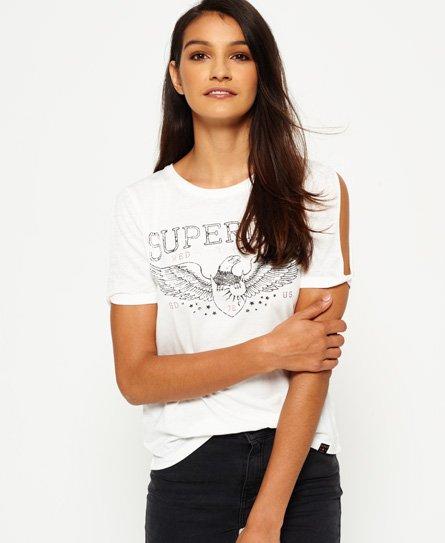 Superdry T-shirt à manches découpées Midwest