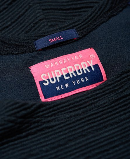 Superdry Robe patineuse texturée Wave