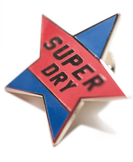 Superdry Custom Pin Badge Pack