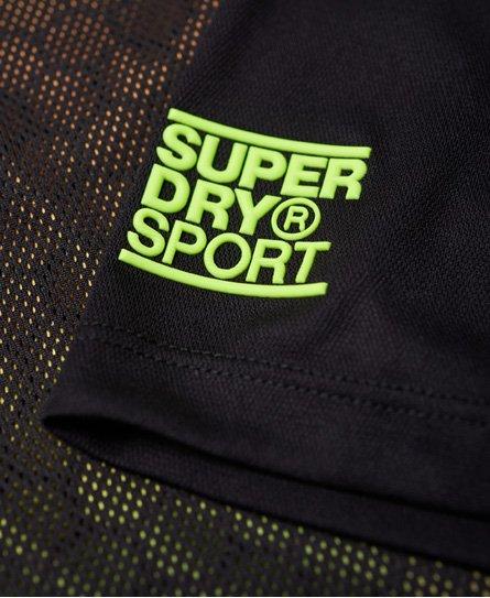 Superdry Training T-Shirt mit durchgehendem Print