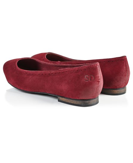Super Femme Chaussures Superdry Ballerines pour nqxw05TH4