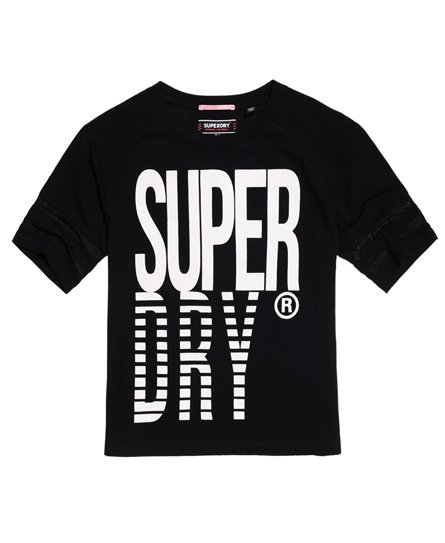 Superdry Mesh Panelled Crew T-Shirt