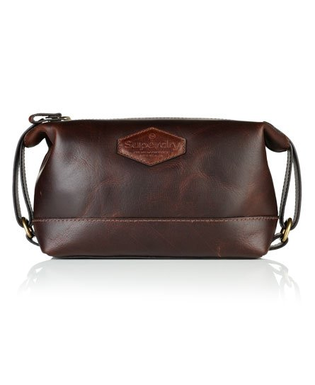 Superdry Leather Travel Bag