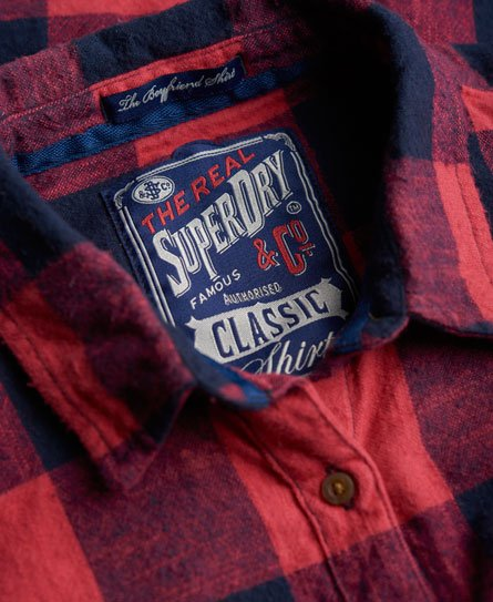 Superdry Super Slub Boyfriend Shirt
