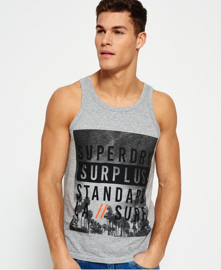 Superdry Surplus Goods Graphic Vest Top