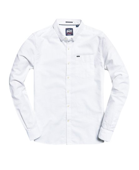 Superdry Boston Button Down Long Sleeve Shirt