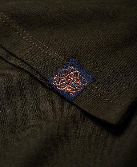 Superdry T-shirt brodé à manches raglan