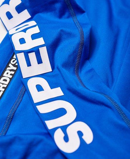 Superdry Felpa con cappuccio e zip Sports Athletic Panel
