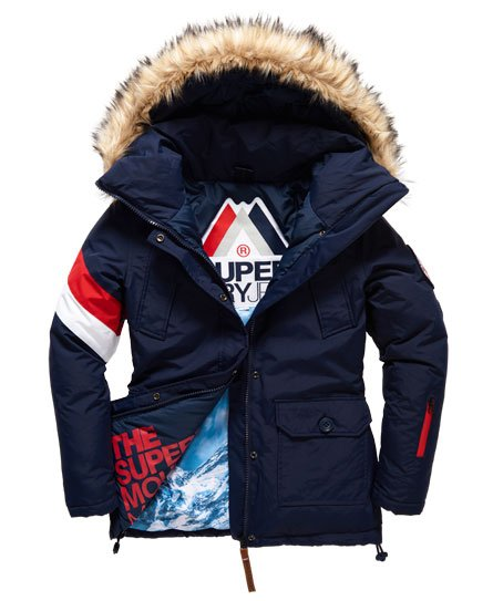 Et Superdry Mountain Veste Vestes Manteaux Everest Hooded Master wBYx1Hq