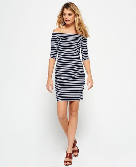 Superdry Bardot Bodycon kjole