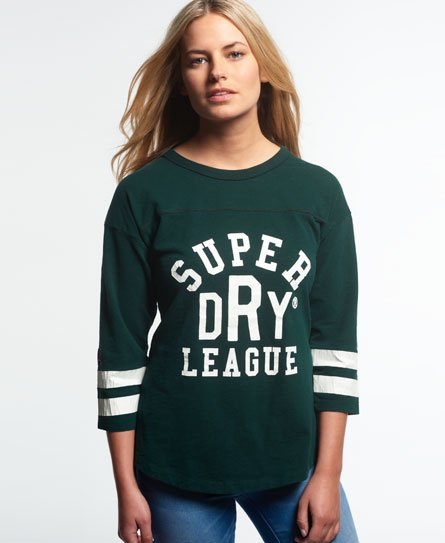 Superdry Tri League Baseball Top