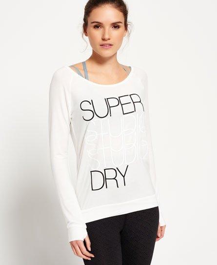 Superdry Studio Drape Crew Neck Top