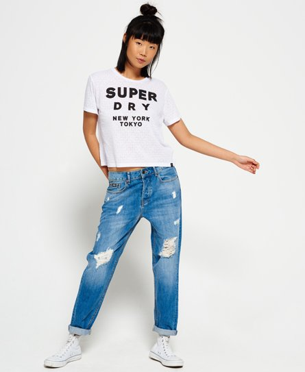 Superdry Houston Burnout T-shirt