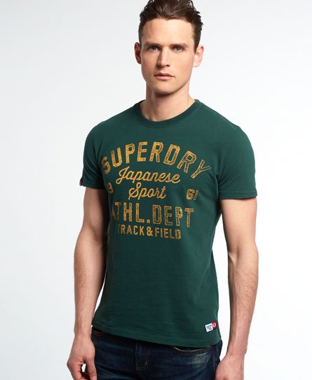 superdry trackster vintage t shirt herren t shirts. Black Bedroom Furniture Sets. Home Design Ideas