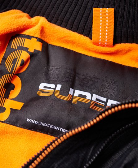 Superdry Giubbotto con cappuccio e zip a scomparsa Arctic SD-Windcheater