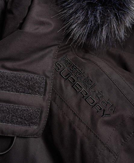 Superdry Giubbotto con cappuccio in microfibra con pelliccia SD-Windbombe