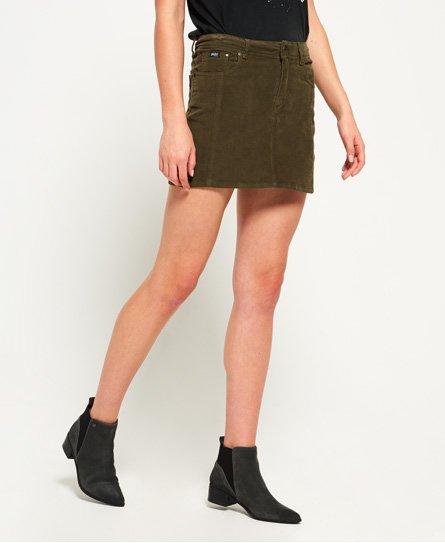 Superdry Cord Mini Skirt