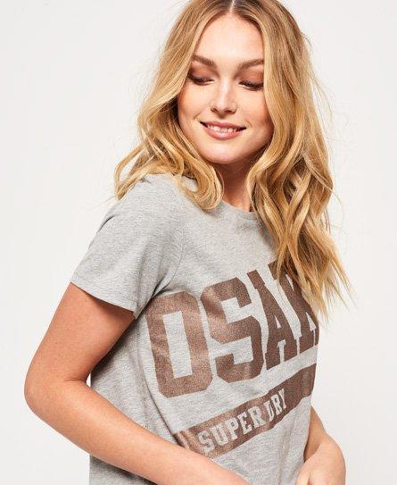 Superdry Osaka Swoosh T-shirt i firkantet snit