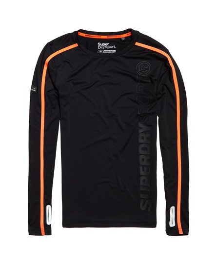 Superdry T-shirt à manches longues Sport Athletic