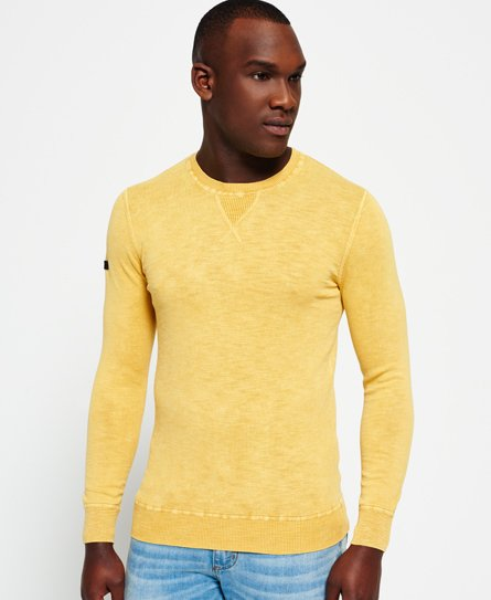 Superdry Garment Dyed L.A. Crew Neck Jumper