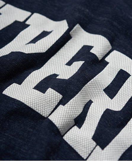 Superdry Varsity Long Line T-Shirt