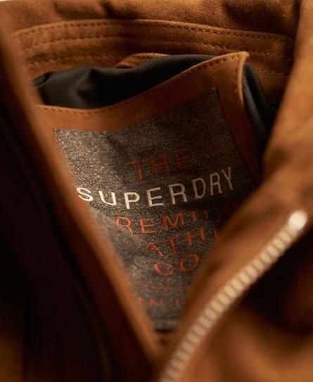 Superdry Suede Billie Bomber Jacket
