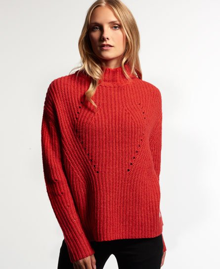 Superdry Funnel Rib Jumper
