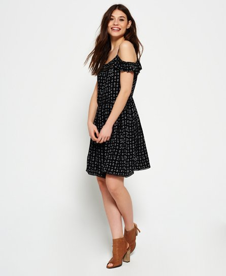 Superdry Festival Bardot Cami Dress