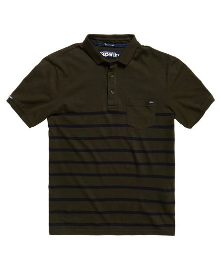 ade6105ea04 Superdry City Case Pocket Jersey Polo Shirt - Men's Polo Shirts