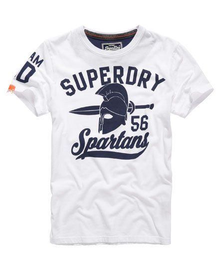 spartan t shirt  Superdry Team Spartans T-shirt - Men's T Shirts