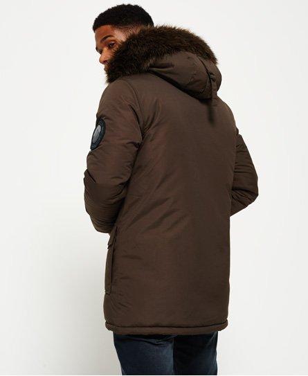 5ef0ce5c672 Superdry Faux Fur Trimmed Everest Coat - Men's Jackets