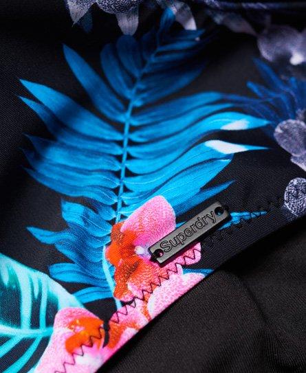 Superdry Top de bikini con espalda olímpica Tropic