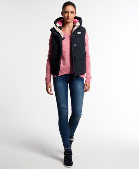 Superdry Doudoune sans manches Chevron University