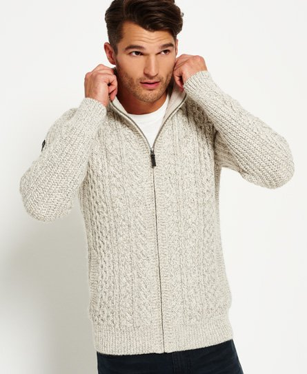 Superdry Mariner Zip Through Cardigan