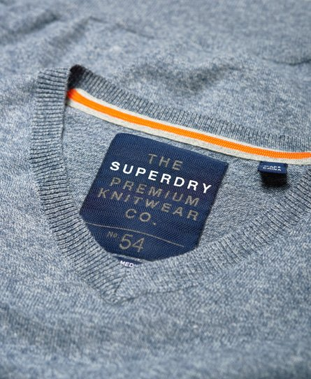 Superdry Pull à col en V Orange Label