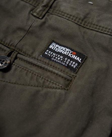 Mens - Rookie Grip Cargo Pants In Drab Green