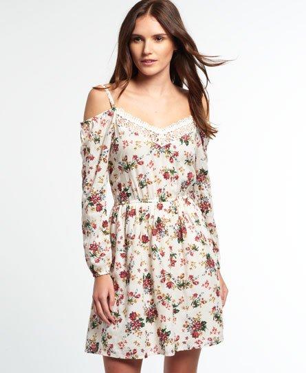 Superdry Peekaboo Lacy kjole