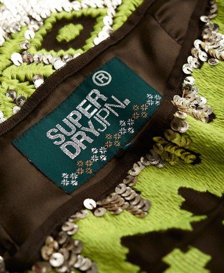 Superdry Aspen Sequin Mini Skirt