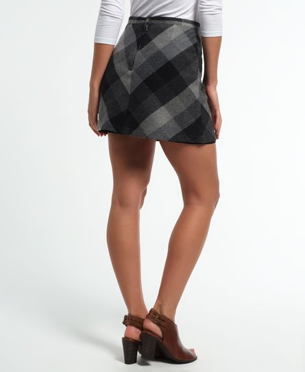 Superdry Minijupe North Check