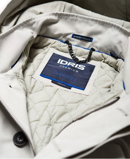 Superdry Idris Borough Trench Coat