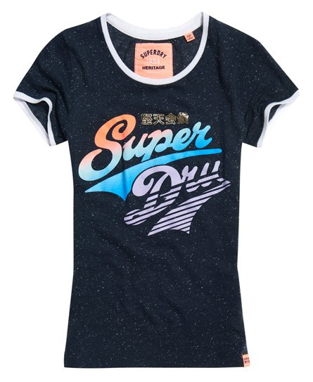 Superdry Paradise Stacker Ringer T-Shirt