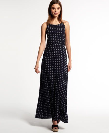 Superdry Slinky Print Maxi Dress