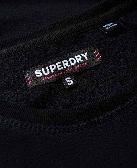 Superdry Robe sweat épaules nues Sport